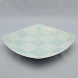 うつわ屋 凛 - [皿] 一珍格子 八寸角皿 - 最終情報更新日: 20140605