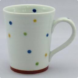 うつわ屋 凛 - [マグカップ] 彩水玉 マグカップ (青) - 最終情報更新日: 20140605