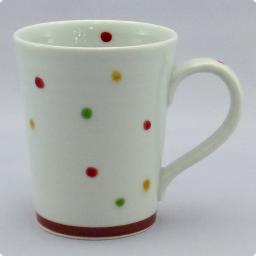 うつわ屋 凛 - [マグカップ] 彩水玉 マグカップ (赤) - 最終情報更新日: 20140605
